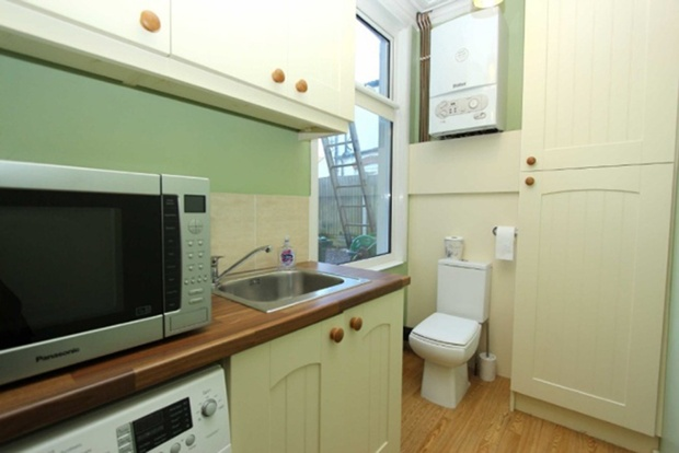 Kitchen with WC